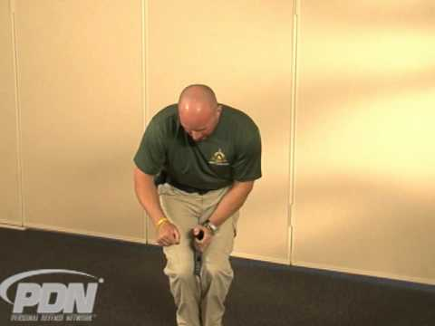 The Knee Method: Deploying a Handgun with One Hand