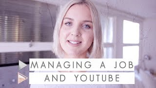 How to Manage a Youtube Channel with a Full Time Job | CHANNEL NOTES