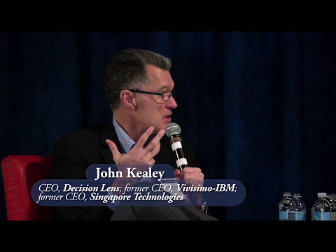 John Kealey, CEO of DecisionLens Interviewed by Tien Wong, CEO of Tech2000 and appnetic, Dec, 2015