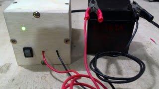 Como fazer carregador de baterias 12V