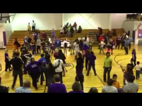 River Mill Academy victory dance...