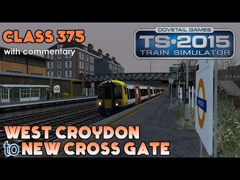 London Overground Class 375 Skin: West Croydon to New Cross Gate | Train Simulator 2015 Lets Play