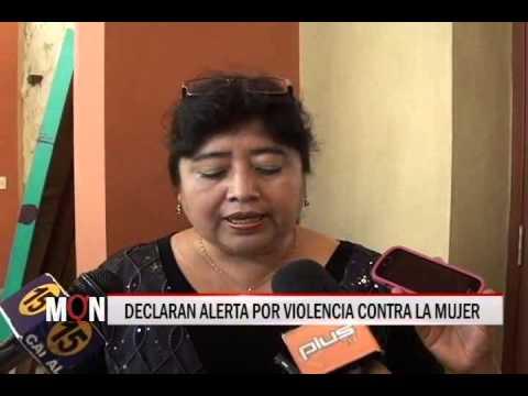23/01/2015-21:01 DECLARAN ALERTA POR VIOLENCIA CONTRA LA MUJER