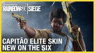 Rainbow Six Siege: Capitão Elite Set - New on the Six | Ubisoft [NA]