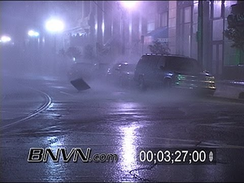 8/29/2005 Hurricane Katrina Video From New Orleans, LA - Pre Dawn - Katrina Raw Master 12