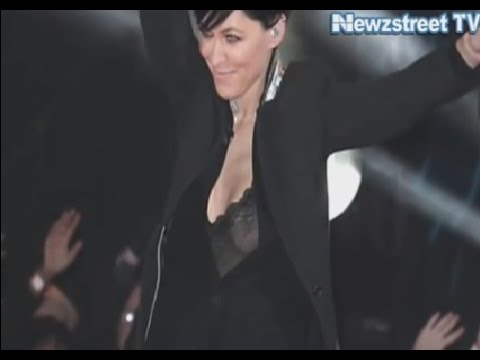 Oops  Emma Willis accidently flashes tits