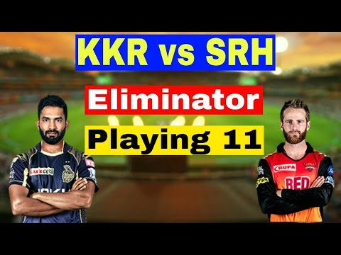 Today IPL Match KKR vs SRH Playing 11 Team