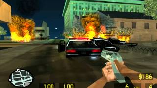 First person mod. GTA SA TEST