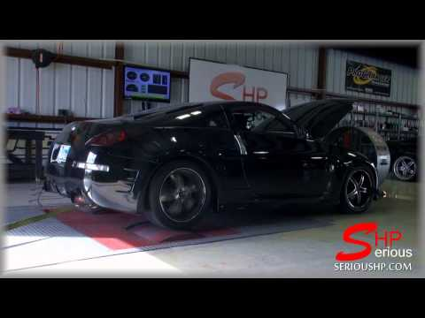 Nissan 350Z Procharged Supercharger SHP tuning Engine Programming / Up