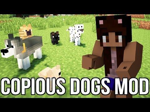 Copious Dog Mod Minecraft
