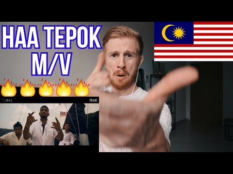 "MeerFly - ""HAA TEPOK"" (Ft. Kidd Santhe & MK) [OFFICIAL MUSIC VIDEO] // MALAYSIAN MUSIC REACTION"