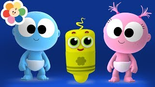 Funny GooGoo & GaaGaa Baby + My Color Friends | 1 Hour Compilation | Animals & Music for Babies