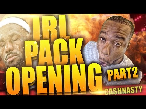 IN REAL LIFE PACK OPENING GAMEPLAY! DOUBLE OVERTIME CRAZY ENDING! NBA 2k15 MyTeam Part 2