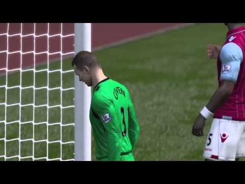 FIFA 15   GOAL! Diving Header From RVP