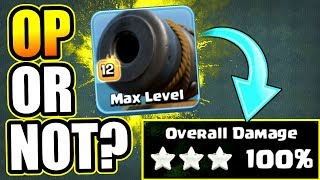 NEW BUFFED CANNON CART IS OP!?....OR NOT? - Clash Of Clans - HOW TO USE THE CANNON CART!