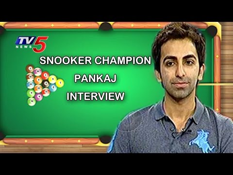 Snookers king Pankaj Advani Special Interview | Tv5News