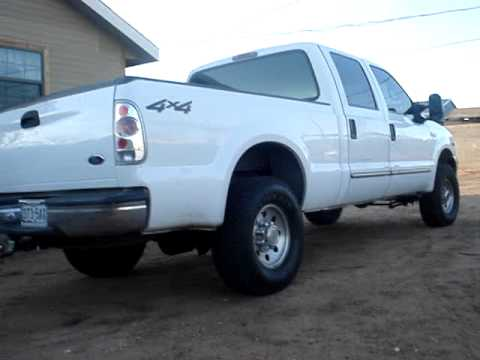 2000 Ford F250 V10 Straight Piped Youtube