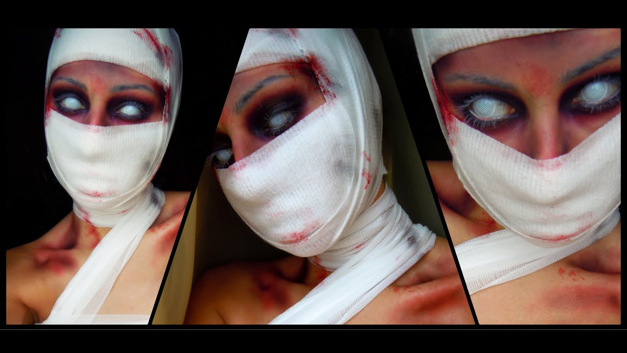 pretty mummy makeup