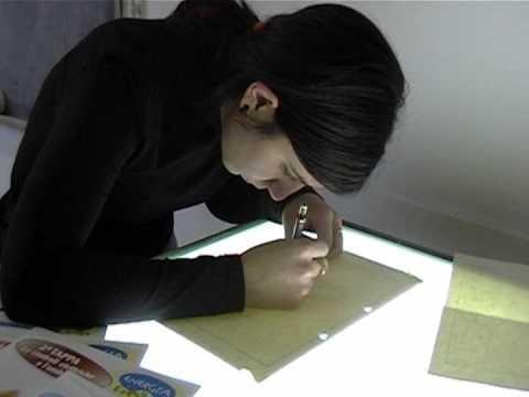 Alunni al lavoro / Students at work
