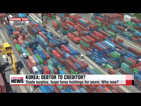 Business Today: Korea net international investment position may turn positive