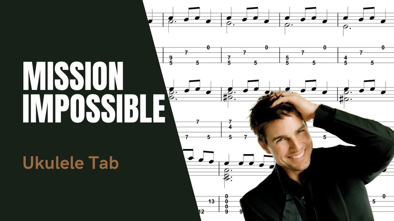 Sungha Jung - Mission Impossible [Ukulele Tutorial] (Tablature) - YouTube