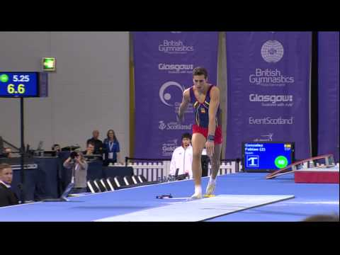 Fabien Gonzalez (ESP) Vault
