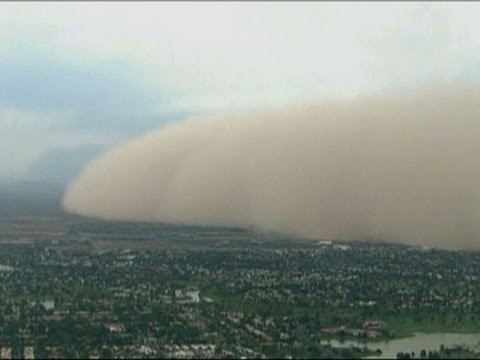 Raw: Massive Dust Storm Covers Phoenix