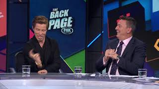 Shaun White - LIVE in the Backpage Studio