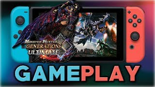 Monster Hunter Generations Ultimate DEMO | First 15 Minutes | Nintendo Switch