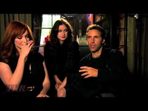 Alessandro Nivola, Christina Hendricks, Alice Englert 'Ginger & Rosa' TIFF 2012