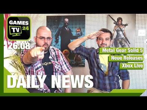 Metal Gear Solid 5, Until Dawn, Pillars of Eternity, Xbox Live Gold   Games TV 24 Daily - 26.08.2015