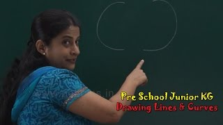 Draw Lines & Curves   Pre School Junior   Let's Learn Alphabets A to Z   Alphabets Train   ABC Song