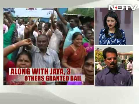 Jayalalithaa, prisoner 7402, granted bail by Supreme Court