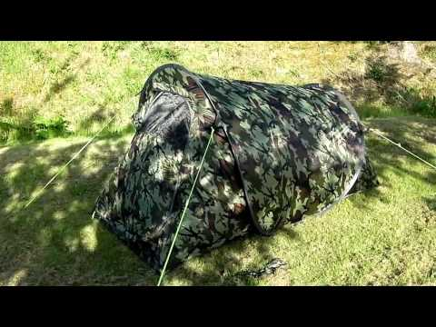 Gelert Quickpitch compact pop up tunnel tent review