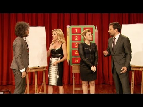Pictionary With Demi Lovato, Julie Bowen, Wayne Coyne & Jimmy Fallon, Part 1 video