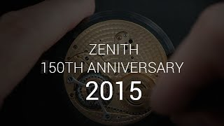 Zenith 150th Anniversary: Press Conference