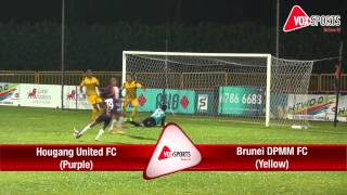 Great Eastern Yeos S-League 2013: Hougang United FC vs Brunei DPMM FC