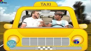El Alfa en el Taxi Boca de piano es un show