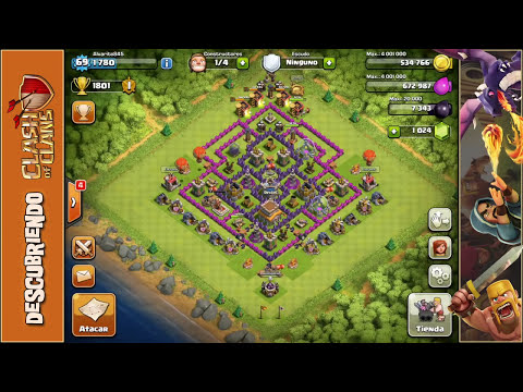Abusando con globos | Ataques #1 | Empezando Clash of Clans