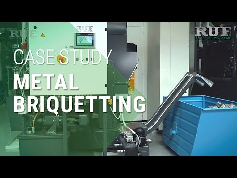 Benefits of RUF Briquetting Presses for Metal