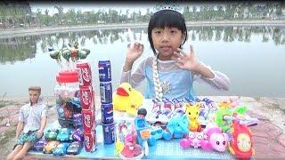 Thanh Băng Chơi trò chơi Bán Hàng& Ngọc Ruby Mua Đồ Chơi, Mua Đồ Ăn Vặt *_* Baby channel