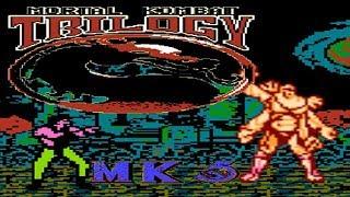 Mortal Kombat Trilogy / MK5 (16player) (Unl) - NES Longplay - Liu Kang (NO DEATH) (Hard Difficulty)