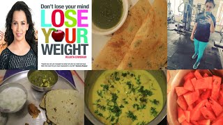 I tried Rujuta Diwekar diet plan for week13 with healthy recipes| Lost 8kgs weight in 1month