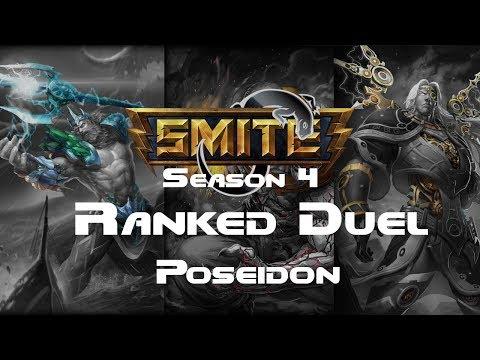 Smite - Ranked 1v1 Duel (Diamond 1) - Poseidon Season 4