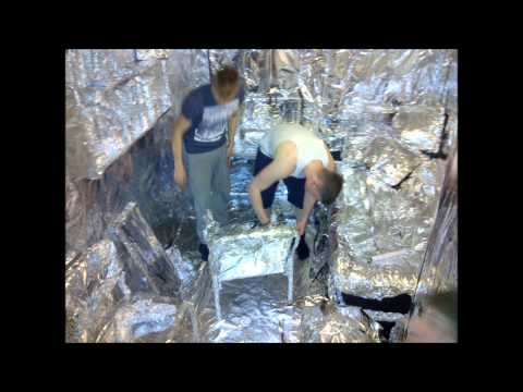 Ultimate Tin Foil Room Prank - Southampton Solent