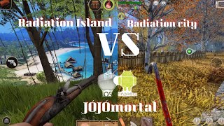 RADIATION CITY vs RADIATION ISLAND (COMPARAÇÃO/COMPARISON) iOS/ANDROID - HD (SIDE BY SIDE)