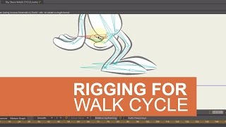 Rigging for a Walk Cycle Using Target Bones in Moho (Anime Studio)
