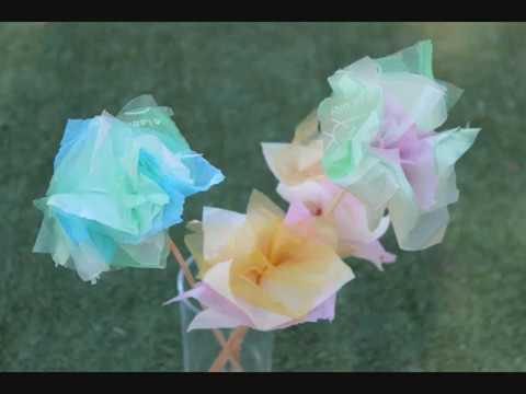 פרח משקיות ניילון
