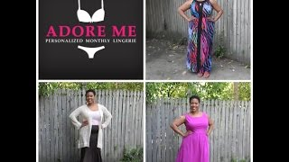 Plus Size Thrift Store Fashion Haul & Try On + Adore Me Lingerie