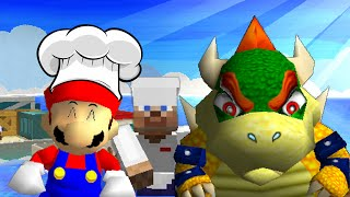 SM64: Cooking with mario and bowser 3!